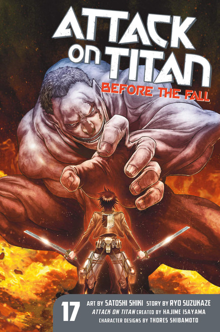 Attack on Titan: Before the Fall Graphic Novel 17