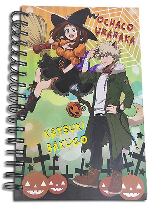 My Hero Academia HC Notebook - S2 Bakugo & Uraka Halloween