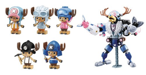 One Piece Stampede! Model Kit - Chopper Robo Color Ver. Set