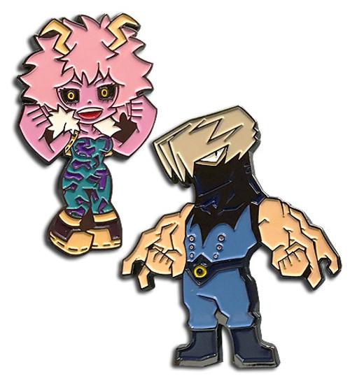 My Hero Academia Pin Set - Pinky & Tentacle