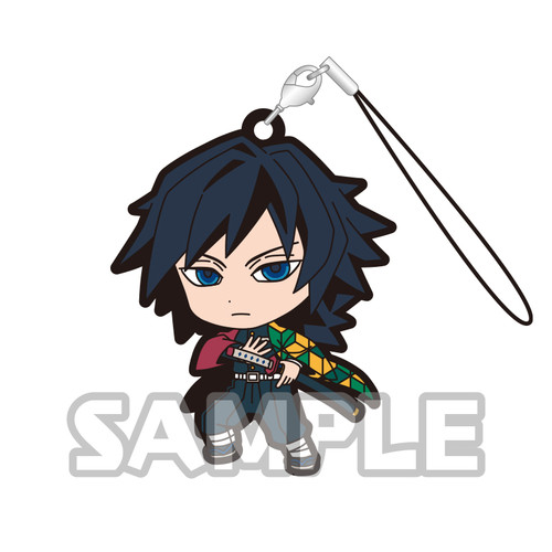 Demon Slayer Rubber Strap - Giyu Tomioka