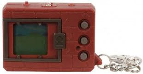 Digimon 20th Anniversary Digivice Virtual Pet Monster Brown