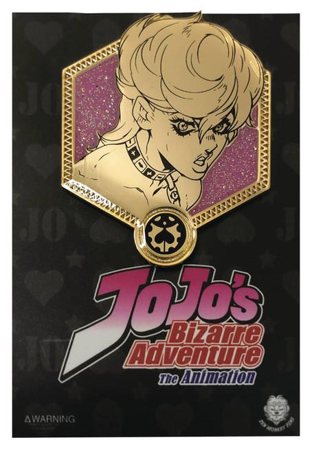 JoJo's Bizarre Adventure Enamel Pin - Golden Trish Una