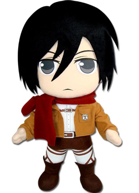 "Attack on Titan Plush Doll - Mikasa 18"""