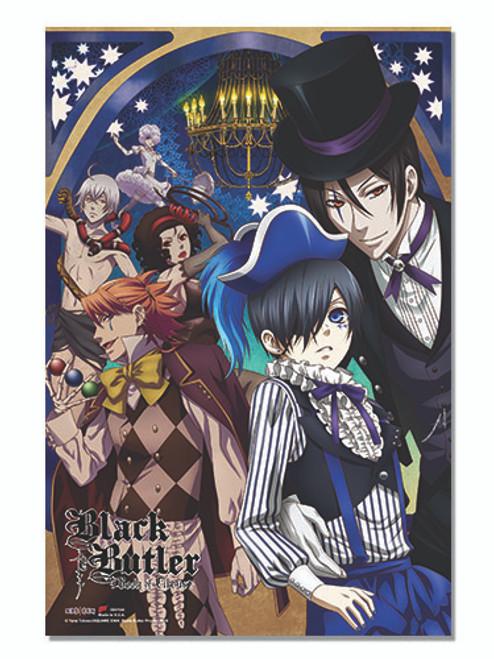 Black Butler: Book of Circus Poster - Sebastian & Ciel