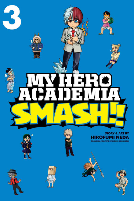 My Hero Academia: Smash!! Graphic Novel Vol. 03