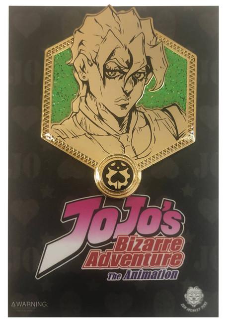 JoJo's Bizarre Adventure Enamel Pin - Golden Fugo