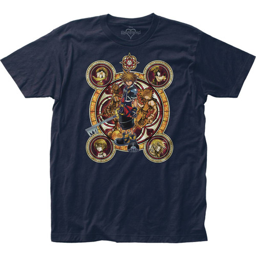 Kingdom Hearts T-Shirt Character Circles