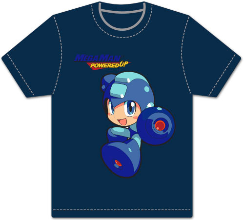 Mega Man Powered Up T-Shirt - Mega Man SD