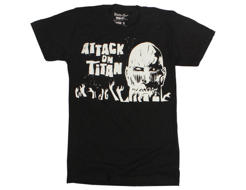 Attack On Titan T-Shirt Angular Artistic Titan