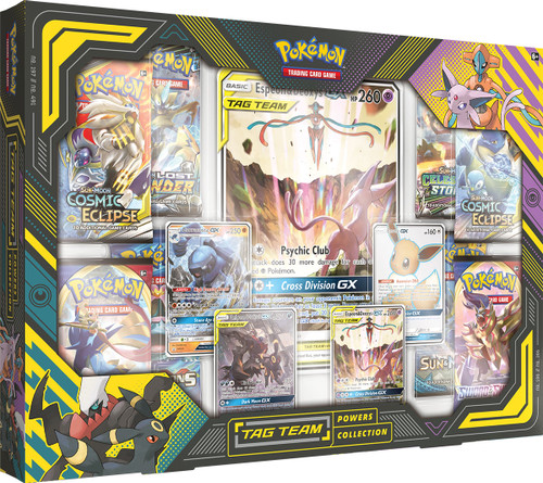 Pokemon Tag Team Powers Collection