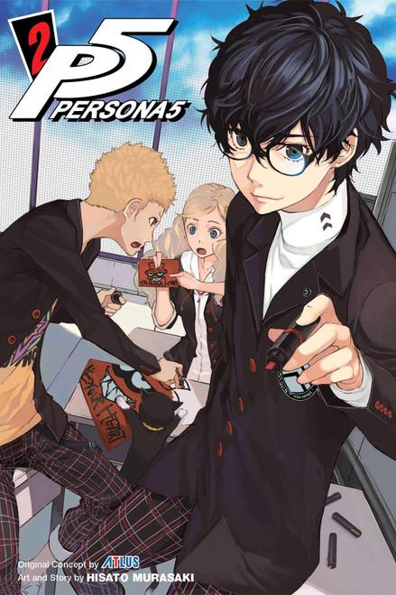 Persona 5 Graphic Novel 02