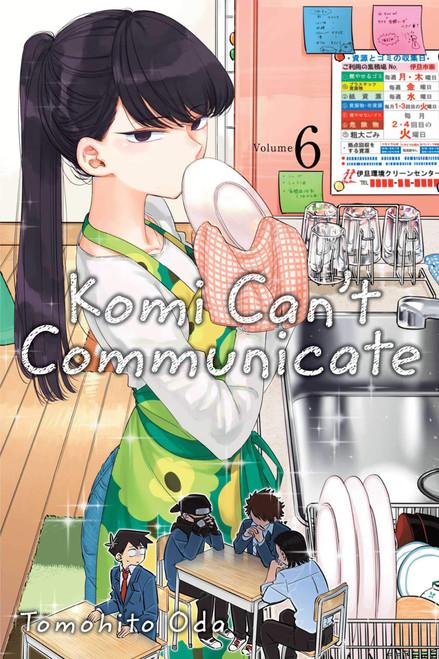 Komi Can't Communicate Graphic Novel 06