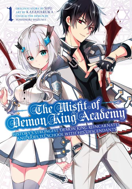 The Misfit Of Demon King Academy Manga 01