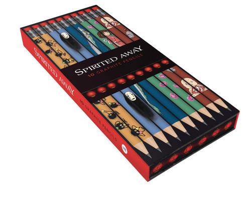 Spirited Away 10-pc Boxed Pencil Set
