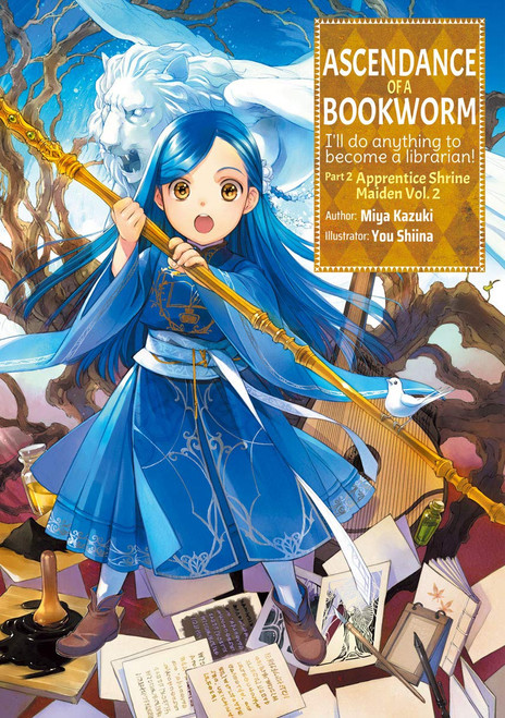 Ascendance of a Bookworm Light Novel Part 2 Vol. 02
