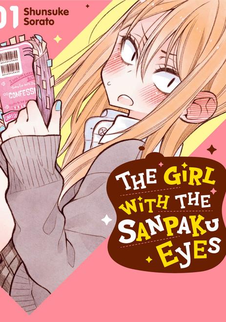The Girl with the Sanpaku Eyes Manga 01 (Color)