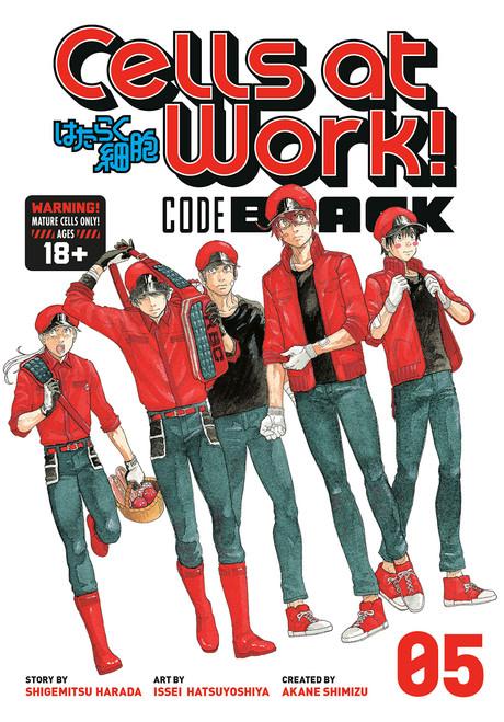 Cells at Work! CODE BLACK Graphic Novel 05