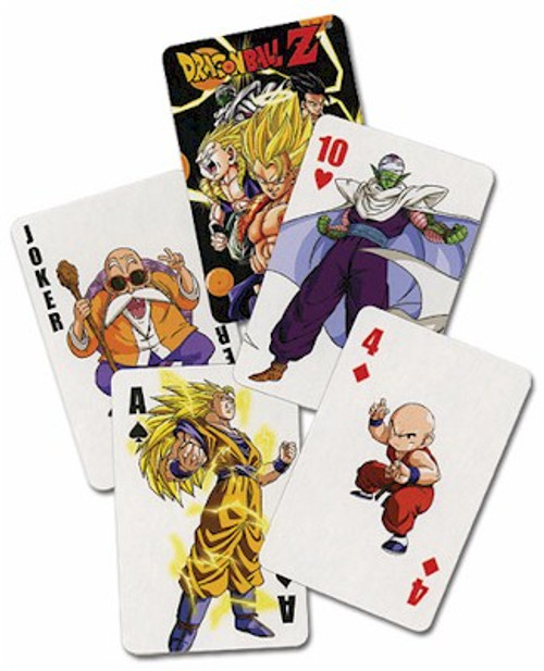Dragon Ball Z Playing Cards #1