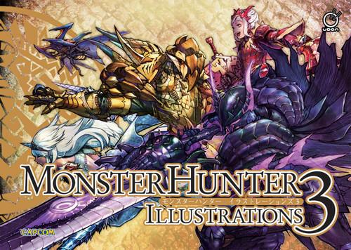 Monster Hunter Illustrations 3 Artbook (Hardcover)