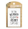 BCMG4011 Magnet Heart speak Carded