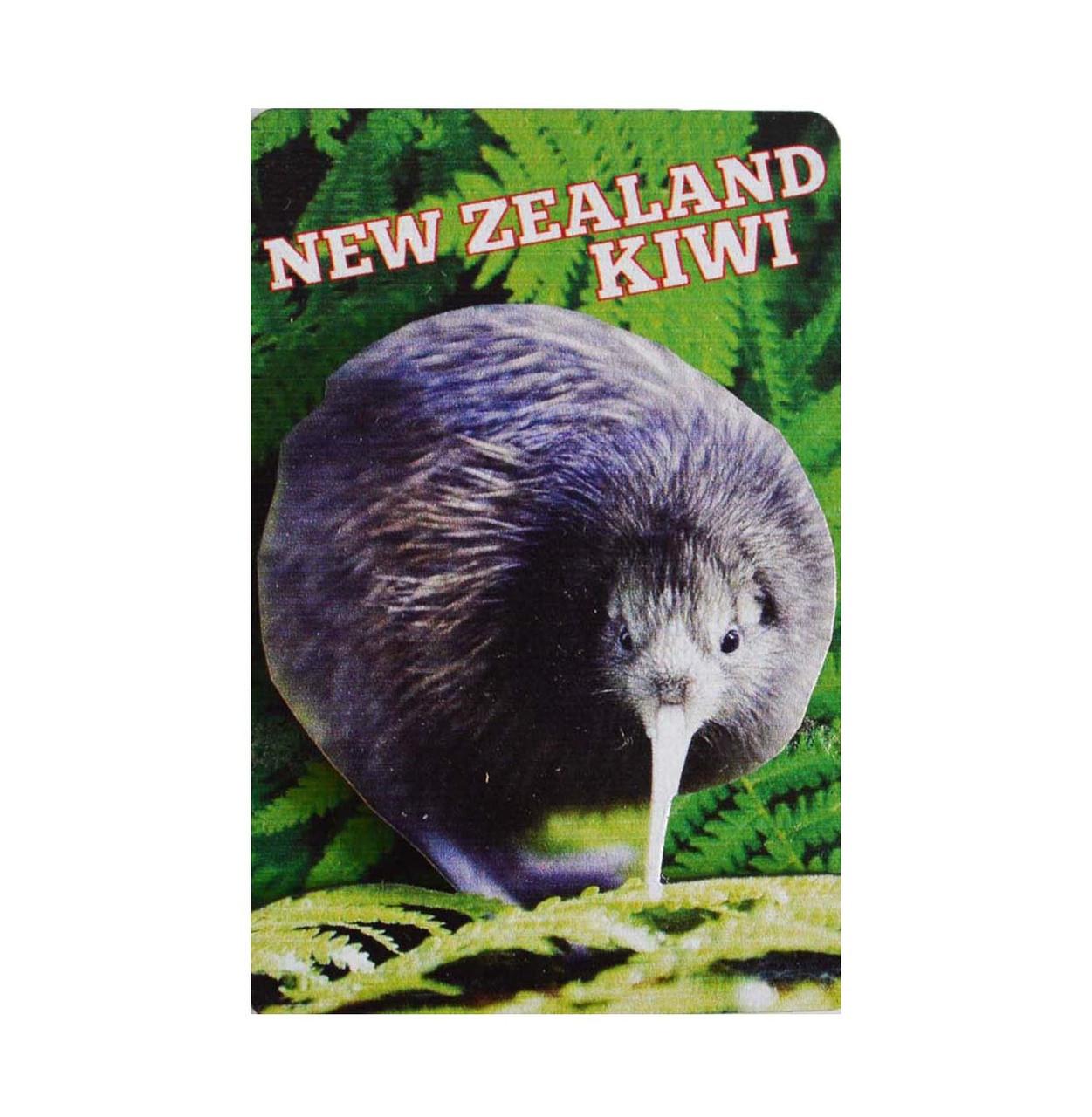BCMG524 3D Magnet - Native NZ Birds - Kiwi