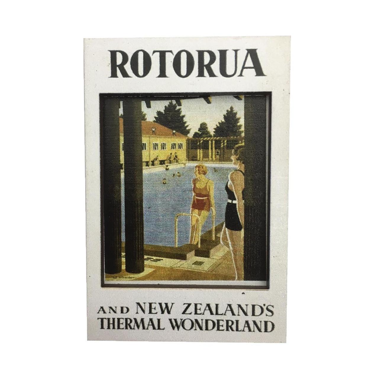 BCMG503 3D Magnet - Vintage Rotorua