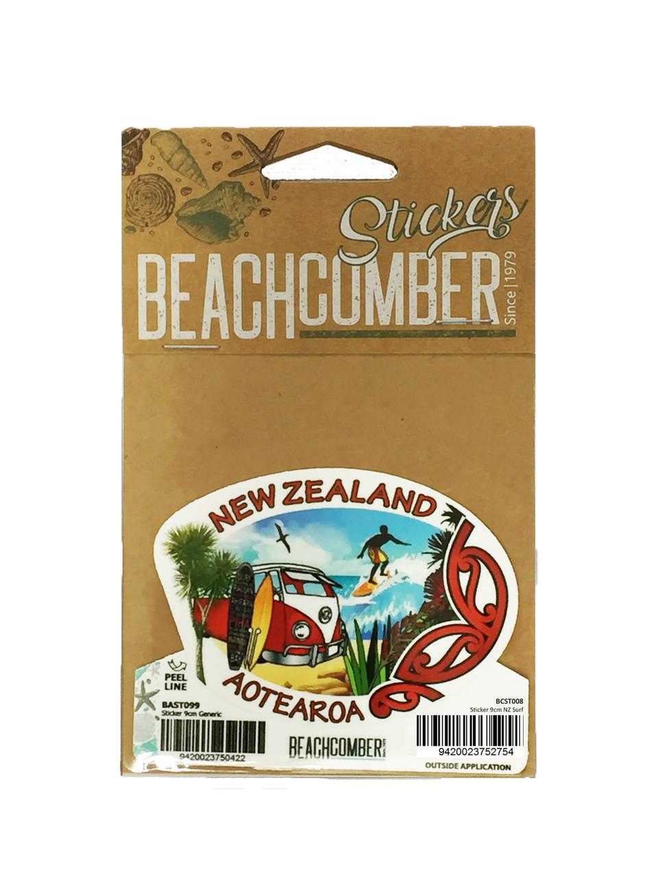 Sticker 9cm NZ Surf