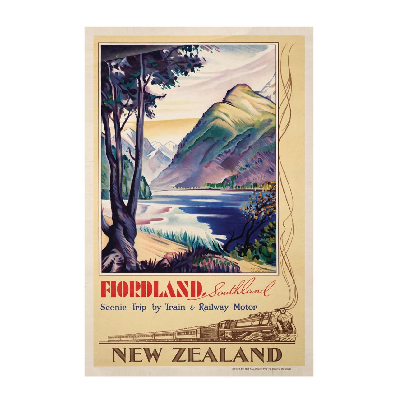 BAWA016 Banner Fiordland Sml