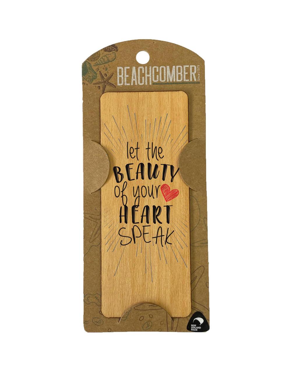 BCBM4011 Bookmark Heart speak