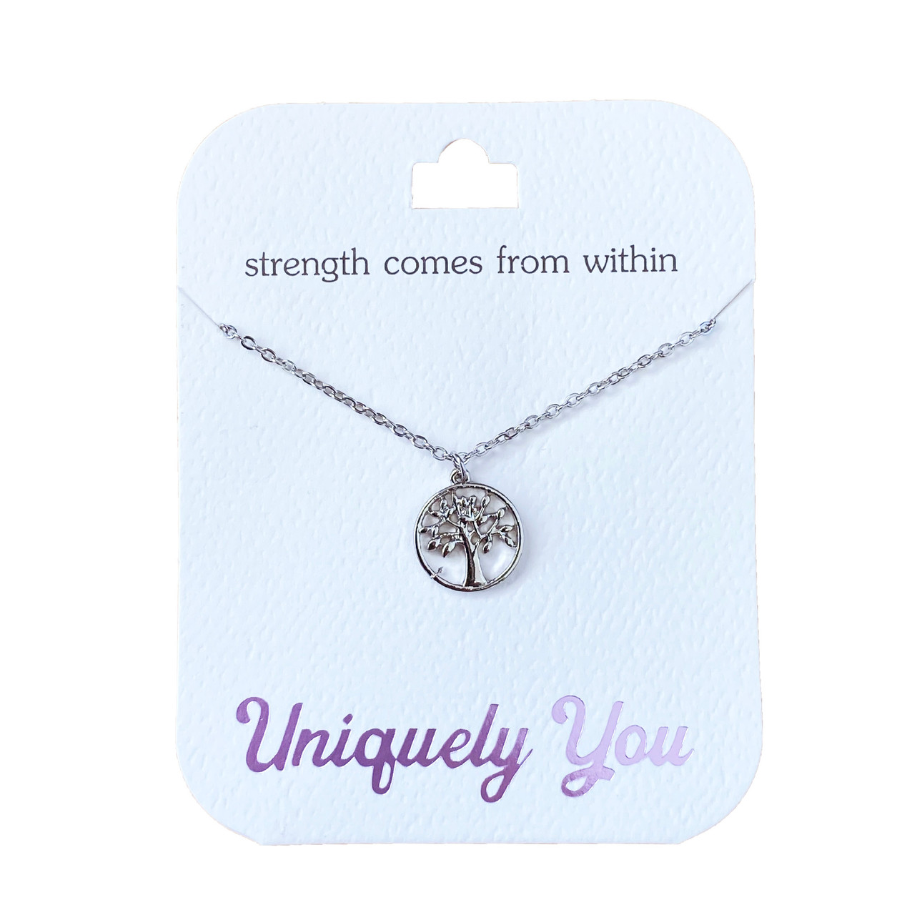 YOU4016 Uniquely You Pendant, Strength within