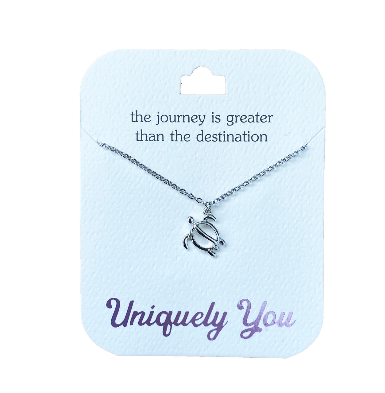 YOU4026 Uniquely You Pendant, The journey is greater