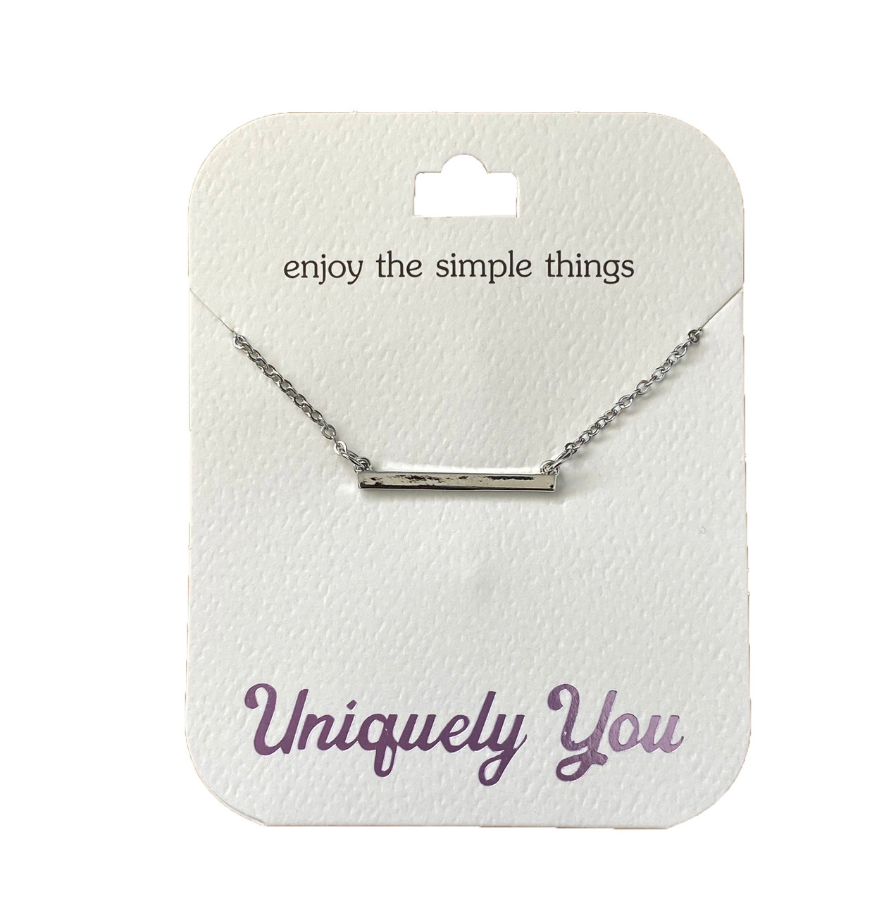 YOU4005 Uniquely You Pendant, Simple things