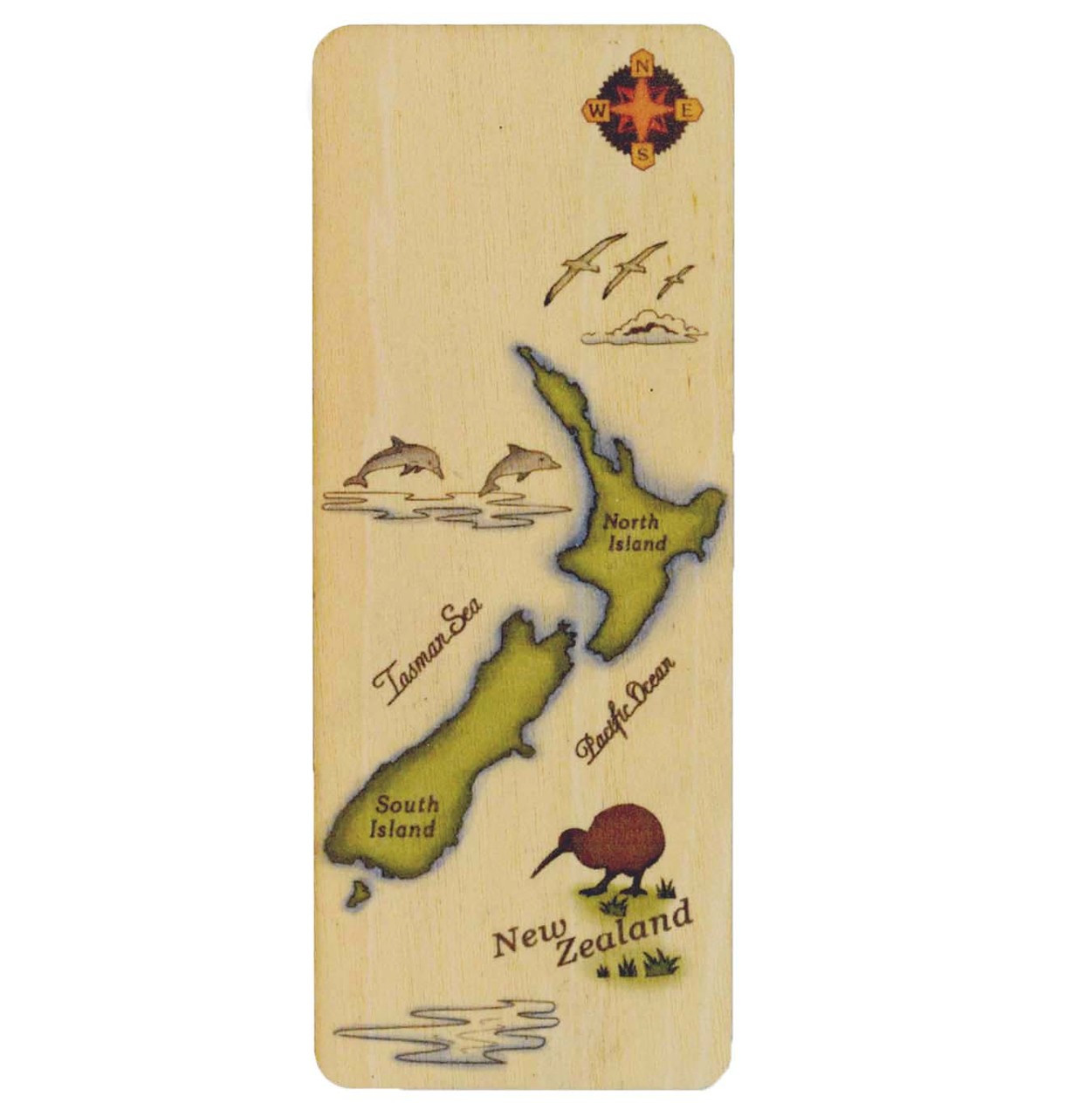 Bookmark NZ Map