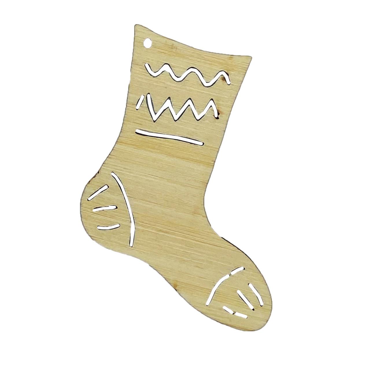 BAXM114 Xmas Stocking - Sustainable Bamboo