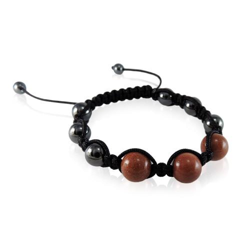 GBG-KGB10g Goldstone Magnetic Bracelet
