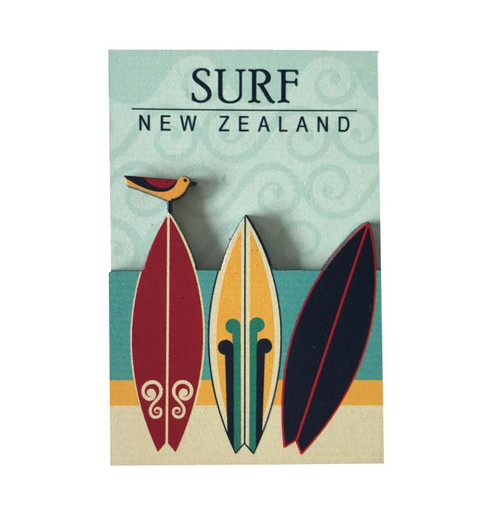 BCMG554 3D Magnet - Surf New Zealand
