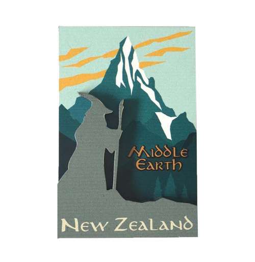 BCMG552 3D Magnet - Middle Earth New Zealand