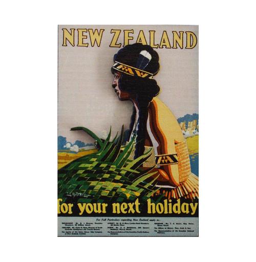 BCMG507 3D Magnet - Vintage NZ Holiday