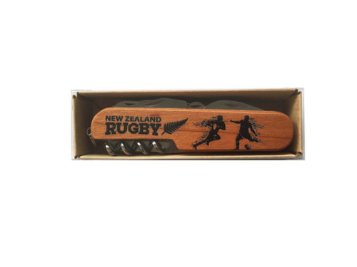 Multi Knife with Rugby imagery
