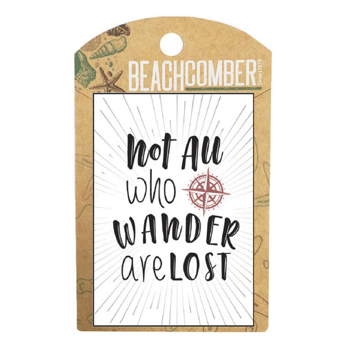 BCMG4003 Magnet Not all who wander Carded