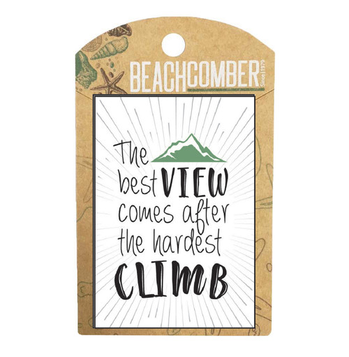 BCMG4018 Magnet The best view Carded