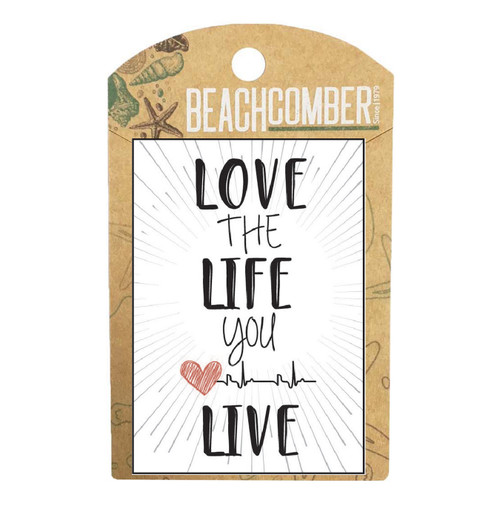 BCMG4031 Magnet Love the life you live Carded