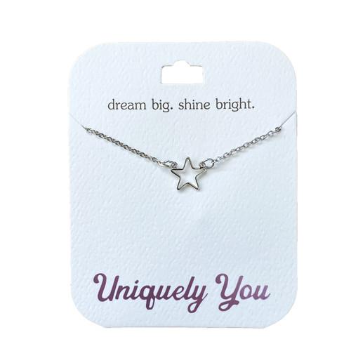 YOU4015 Uniquely You Pendant, Shine bright
