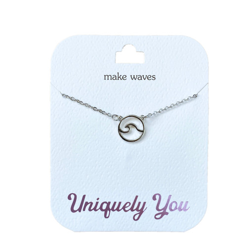 YOU4021 Uniquely You Pendant, Make waves