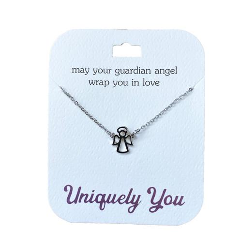 YOU4028 Uniquely You Pendant, Guardian angel
