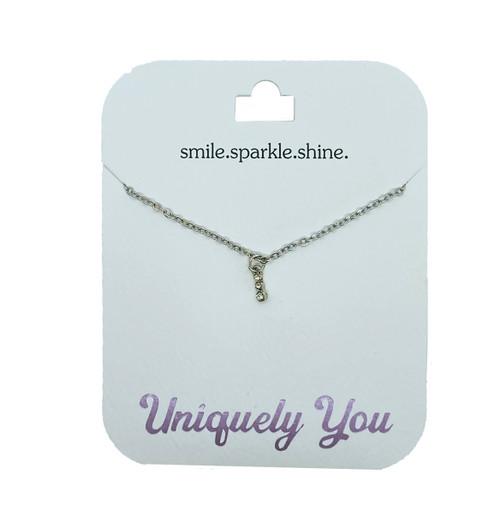 YOU4033 Uniquely You Pendant, Smile.sparkle.shine