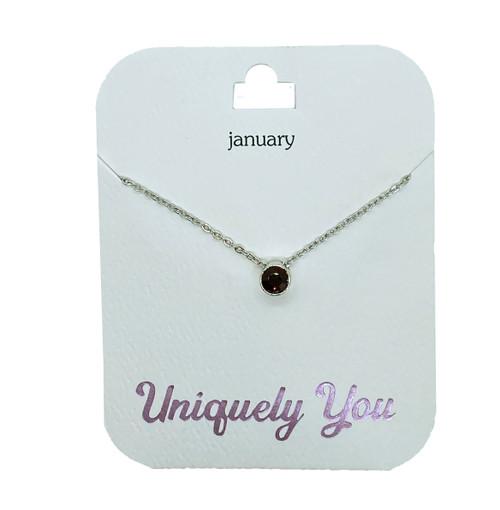 YOU2001 Uniquely You Pendant, January