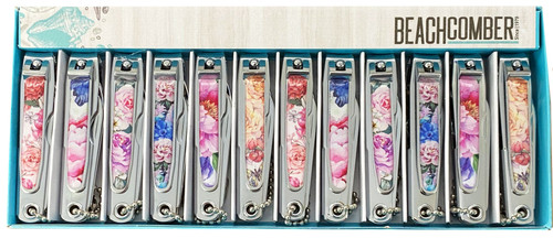 BANC109 Nail Clippers - Floral