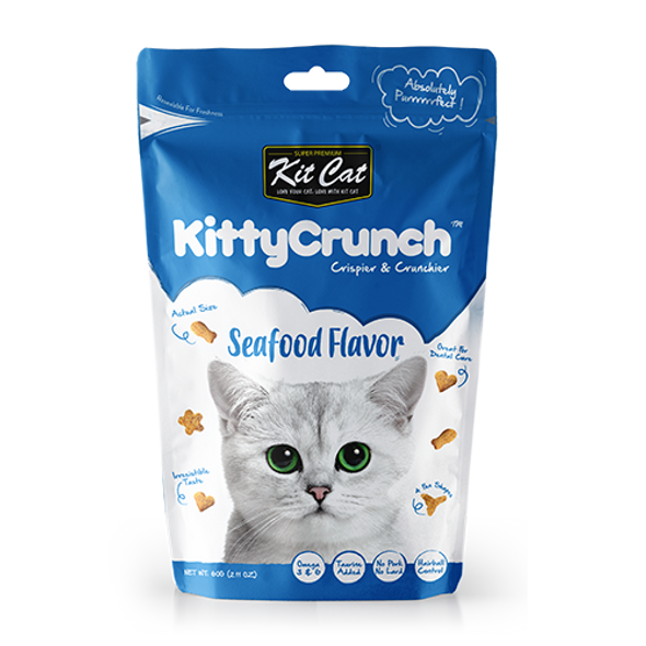Kit Cat Kitty Crunch Seafood 60 g